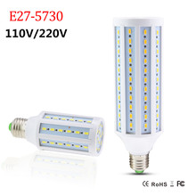 High Quality LED E27 Lamp 5730 SMD Corn Bulb 6W 14W 30W 50W COB Chip Lamp 110V / 220V Led Energy Saving White / Warm White Light(China)