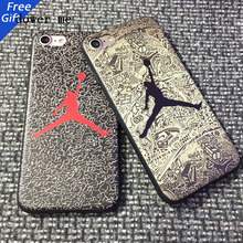 Air Brand Jordan Slam Honor History Popular basketball Luxury Soft Phone Case Cover Coque Fundas for iPhone 5 6 6s plus 7 7plus