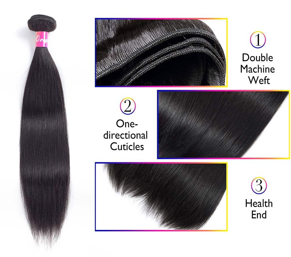 Bundles with closure, bundles with closure straight, bundles with color,Cheap bundles with closure,High Quality bundles with closure straight, China bundles with color Suppliers 4bundles Brazilian Straight Hair Human Hair with 4x4 Closure Bundles With Closure Natural Color Non Remy Hair Extensions