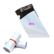50pcs/lot 28X42Cm Self Adhesive Seal Air Mail Advertise Mailing Envelopes White Courier Package Poly Bags New Material Plastic
