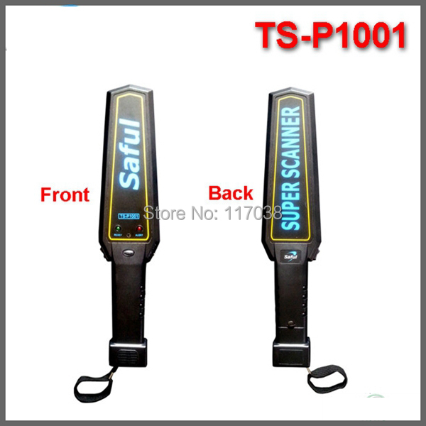 Free shipping High sensitivity OEM security products TS-P1001 portable handheld metal detector for security inspection<br><br>Aliexpress