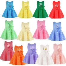 Best Selling Summer Style Girl Lace Dress Cute Kids Clothes O Neck Sleeveless Baby Girl Princess Dress Toddler Girl Clothing