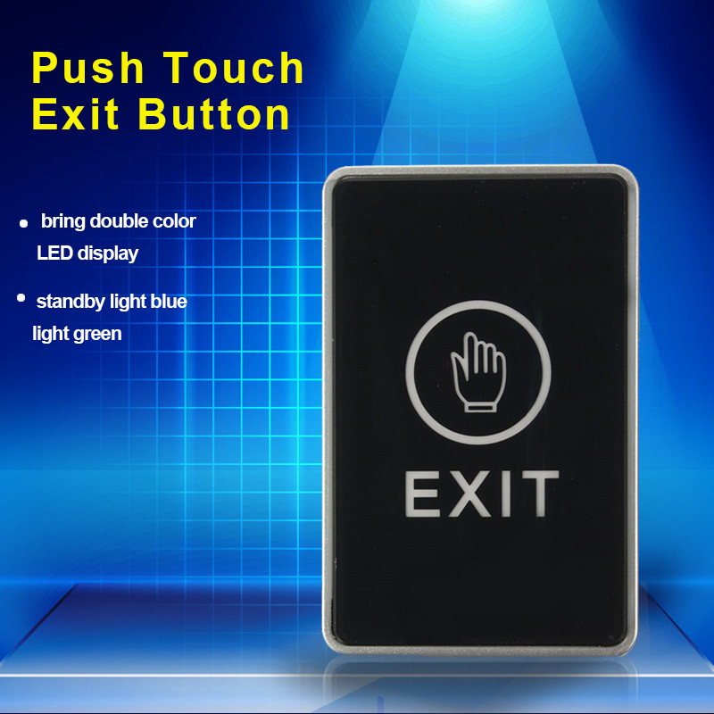 Push Touch Exit Button Door Eixt Release Button for access Control System suitable for Home Security  Protection Free Shipping<br><br>Aliexpress