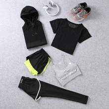 cool quick dry breathable running sets short sleeve t shirt long pants shorts hoody jacket sun protection jersey yoga gym bra