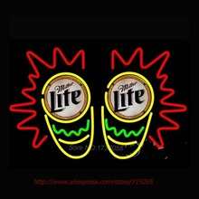 miller Lite Conga Drum Neon Sign Neon Tubes Commercial Custom Neon Bulbs Real Glass Tube Bright Handicraft Store Display 30x20