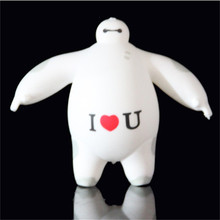 Best Price 1 PCS Novelty Cute Gift Baymax Big hero Vent Ball Action Figure Toy Soft Robot Doll Relax Squeeze Stress Relief(China)