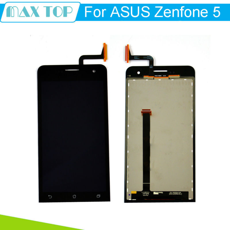 for Asus Zenfone 5 Black Full New LCD Display Panel Screen Touch Screen Digitizer Glass Lens Assembly<br><br>Aliexpress