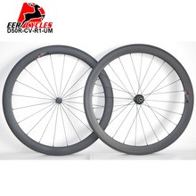 1358g Deercycles Super Light 700c 50mm Deep 23mm Wide Clincher Carbon Road Bike Wheel set Bicycle Wheels Dati R1 hubs 20/24H(China)