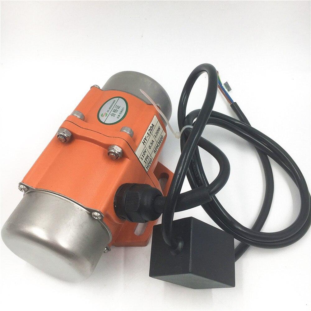 ToAuto 220V AC asynchronous vibration motor Single Phase vibrator for Mine Metallurgy coal construction casting food machine etc<br>