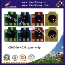 (CZ-DH4005) toner cartridge reset chip for HP CB400A - CB403A CB400 400A 400 Color LaserJet CP 4005 4005n 4005dn kcmy free dhl(China)
