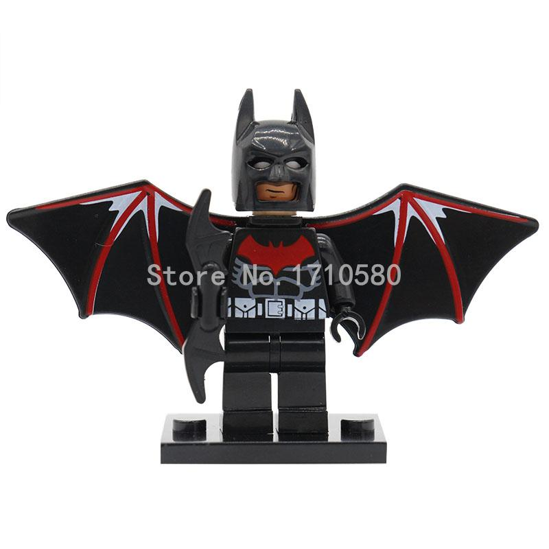 XINH 130 Beyond Batman With Base Single Sale Mini Building Blocks DC Marvel Super Hero Set Model Educational Toys Gifts<br><br>Aliexpress