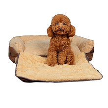 Superior pet Cat Dog Bed for large dogs Soft Warming Pet Beds dog house Cushion Puppy Sofa Couch Mat Kennel Pad cama perro DA(China)