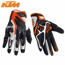 Free shipping Hot sales Newest models 2014 KTM gloves motorcycle gloves Suvs gloves Racing leather gloves(China)