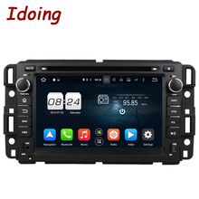 "Idoing 2 Din 7""Car Video DVD Player Fit GMC Yukon/Tahoe Android 6.0 GPS Navigation Touch Screen 2G RAM 32G ROM 8 Core Fast Boot(China)"