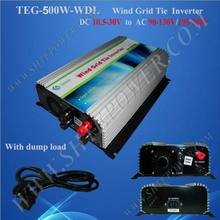 Hot seller on grid tie inverter 500w wind power inverter with dump load resistor(China)