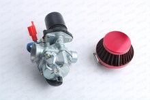 Buy 19mm Carburetor Moped Carb 2 Stroke Zip Jog 50 50cc Scooter 1PE40QMB for $29.99 in AliExpress store
