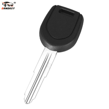 DANDKEY Uncut Blank key Replacement Transponder Key Shell Left Blade for Mitsubishi Car key(China)