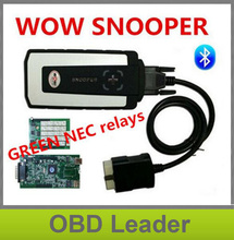 Keygen as gift! wow snooper with Bluetooth V5.00.8 R2 software tcs cdp pro cars trucks auto OBD2 diagnostics tools