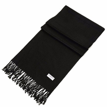 New Fashion 100% Faux Cashmere Scarf Women With Tassel Solid Scarves Pure Color Winter Hijab and Pashimina Size 180*65cm