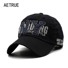 2017 Baseball Cap Women Snapback Men Caps Hats For Women Brand NY Bone Gorras Washed Cotton Casquette Adjustable Letter Caps Hat