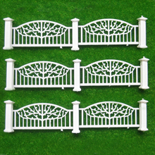 1eter long Model fence construction sand table model material outdoor landscape garden railings(China)