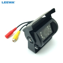 4pcs 24V Bus Truck 170 Degree Rearview Night Vision IR Camera Reversing Car Camera with Video Cable #CA1256(China)