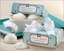 Free Shipping 20pcs/lot=10 Sets/lot Wedding Beach Theme Seashell Scented Soaps Gift Wedding Soap Favor With Gift Package
