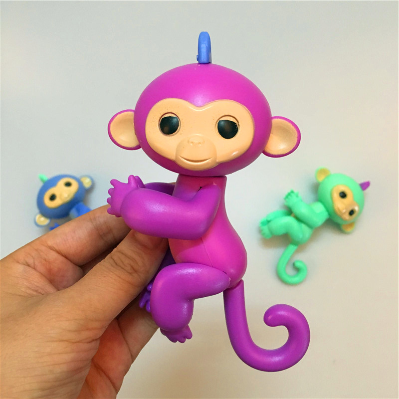 finger monkey head and tail and hand and feet can turn finger baby monkey 3
