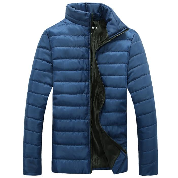 Winter Jacket Men 2017 Men Cotton Blend Coats Zipper Mens Jacket Casual Thick Outwear For Men Asia Size 4XL Clothing Male