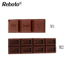 Reboto Love Sweet Chocolate USB Flash Drive 32GB 64GB Flash Memory Stick 4GB 8GB 16GB USB2.0  Pendrive U disk cartoon gift