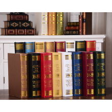retro decor decoration European simulation sample real desktop photo book display props bookcase(China)
