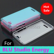 Free shipping tracking number BLU Studio Energy D810 D810u D810L TPU pudding COVER Mobile Cell SMART Phones Silicon Cases