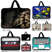 "Unique 10"" 9.7"" Netbook Laptop Sleeve Inner Zipper Bag Cases Cover Pouch Protector For 10.1"" Hp Mini 110 210 acer Aspire One Hot(China)"