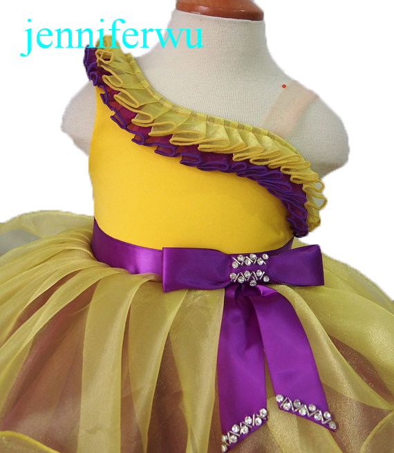 baby  and toddler girl shell dress for formal wear 1T-6T EB1179C<br>