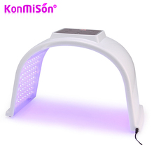 KONMISON 7 Color LED Light Photon Therapy Machine Phototherapy Facial Skin Rejuvenation Anti Acne Wrinkle Removal Beauty Device(China)