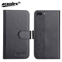 Ark Elf E1 Case 2017 Factory Price 6 Colors Dedicated Leather Exclusive 100% Special Phone Cover Cases Card Wallet+Tracking(China)