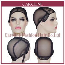 5pcs Cheap Wig Caps For Making Wigs With Adjustable Strap Lace Front Weaving Cap Tools Hair Net & Hairnets Easycap 6043(China)