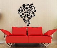 Thinking Bubbles Wall Stickers Good Idea Wall Decal Home Living Room Bedroom Decoration Removable Vinyl Stickers Muraux S-719(China)
