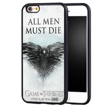 Game Thrones  case cover For Samsung s4 s5 s6 S7 S6edge S8 S8plus note 2 3 4 5