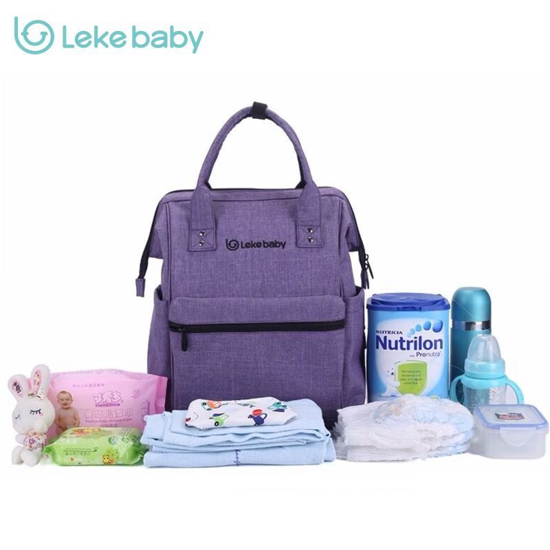 Brand Baby Bag Fashion Nappy Bags Large Diaper Bag Backpack Baby Organizer Maternity Bags For Mother Handbag Baby Nappy Backpack<br><br>Aliexpress