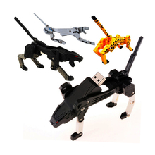 Hot sale pendrive 128GB USB Flash 2.0 Memory classic transformers key usb flash drive 4g 816g 64g thumb dog bug pen u disk 16 gb