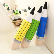 large size 85cm Creative Pencil Plush Toys colorful Pen Cloth Doll kids toys Free Shipping pillow Cushion sleep birthday gift(China)