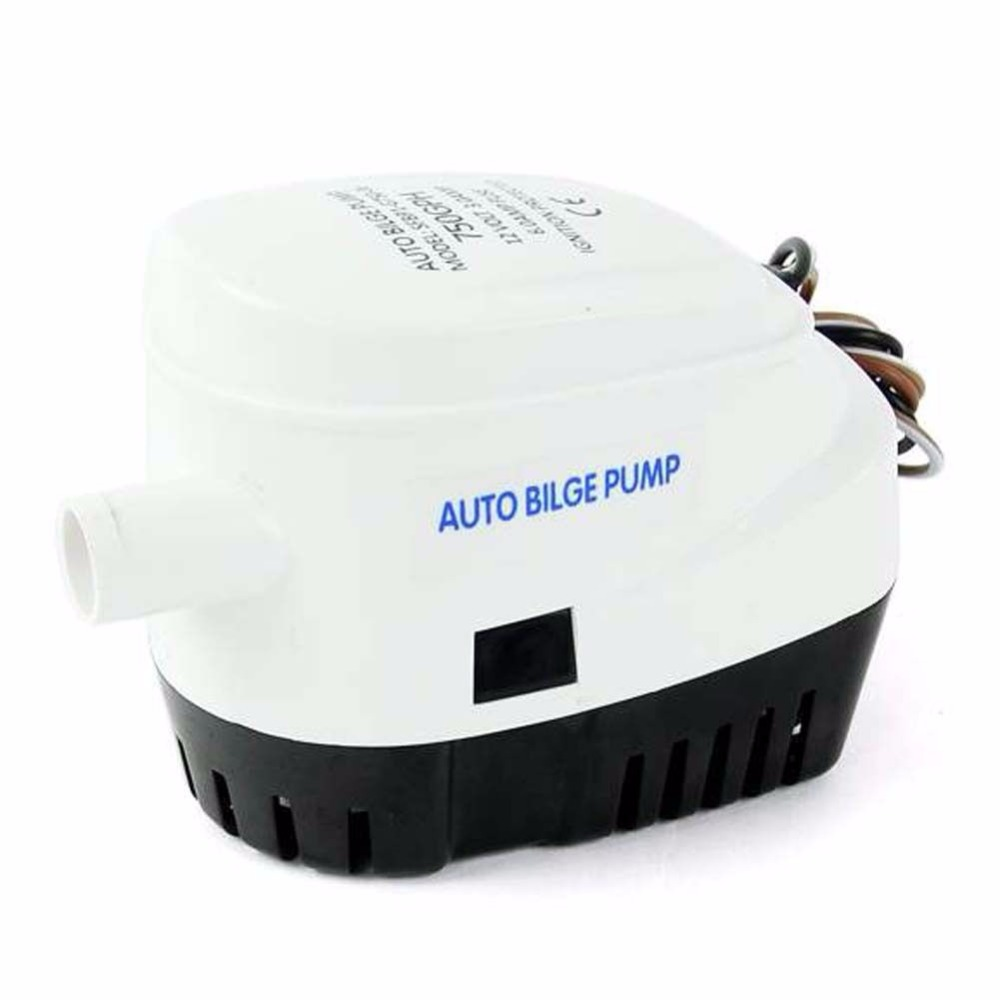Hot Automatic Submersible Bilge Pump 12V 750GPH w/ Float Switch Boat Water<br><br>Aliexpress
