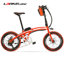 QF600 Elite 500W Big Powerful Portable 20 Inches Folding E Bike ,Aluminum Alloy Frame Electric Bicycle,Both Disc Brakes(China)