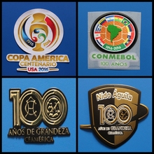 COPA AMERICA CENTENARIO 2016 CONMEBOL 100 ANOS patch football Print patches badges,Soccer Hot stamping Patch Badges