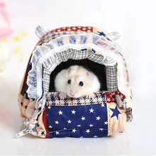 Promotion Small Animals Totoro Hamster Rabbit Cage Pet Products Cotton Pet Bed for Cats Dogs House High Quality Cheap(China)