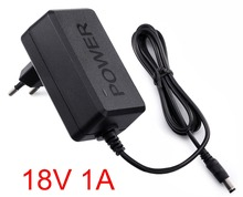 1PCS 18V 1A AC 100V-240V Converter Adapter DC 18V 1A 1000mA Power Supply EU Plug 5.5mm x 2.1-2.5mm