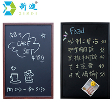 New 2017 Magnetic Black Board With Free Accessories MDF Wood Frame Chalk Board Dry Erase Board Office Supplier 40*60cm