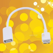 Micro USB 3.0 Male to USB 2.0 Female OTG Cable Cord for Samsung Digital Camera U Disk Card SD Reader Flash Memory