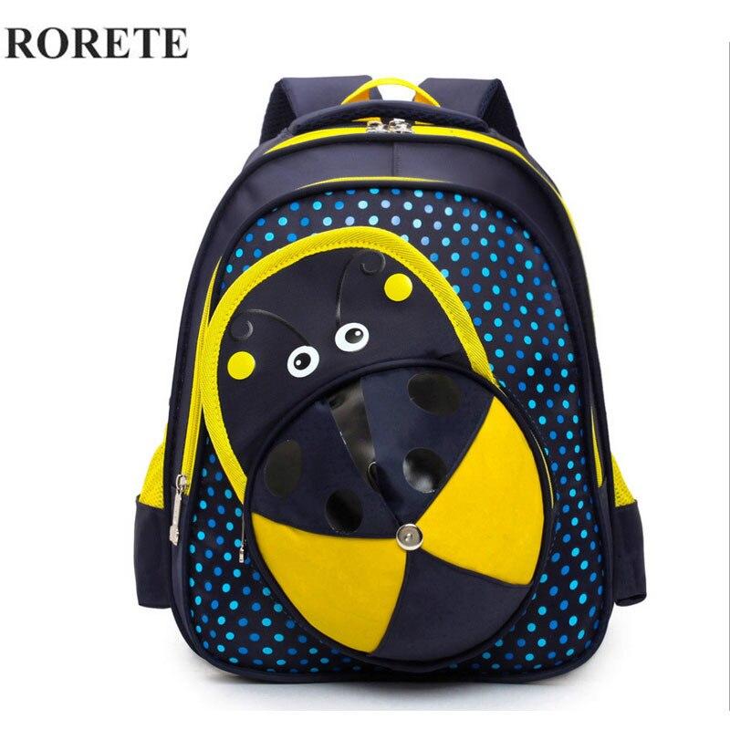RORETE Children Waterproof Backpack In Primary School Backpacks Children School Bags For Boys Girls Mochila Infantil Zip bag 665<br><br>Aliexpress